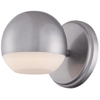 Droplet LED 5 inch Silver Dust Outdoor Wall Sconce