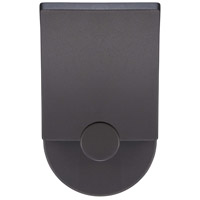 Flipout LED 8 inch Black Outdoor Wall Sconce