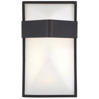 Wedge LED 9 inch Black Outdoor Pocket Lantern