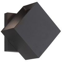 George Kovacs P1245-066-L Revolve LED 5 inch Black Wall Sconce Wall Light