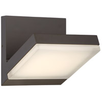 Angle LED 6 inch Oil Rubbed Bronze Outdoor Wall Sconce