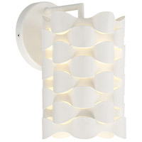 George Kovacs P1300-655-L Coastal Current LED 6 inch Sand White Wall Sconce Wall Light