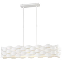 George Kovacs P1306-655-L Coastal Current LED 39 inch Sand White Island Light Ceiling Light