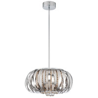 George Kovacs P1313-077-L Woven Gems LED 19 inch Chrome Pendant Ceiling Light