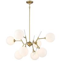 P1488-248 George Kovacs George Kovacs 8 Light 36 inch Honey Gold Chandelier Ceiling Light