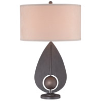 George Kovacs P1616-0 Portables 28 inch 10.00 watt Iron/Antique Bronze Accents Table Lamp Portable Light