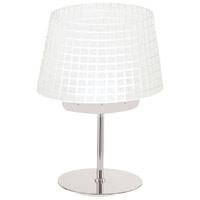Signature 19 inch 6 watt Chrome Table Lamp Portable Light