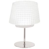George Kovacs P1651-077-L GK 19 inch 6.00 watt Chrome Table Lamp Portable Light