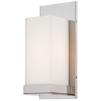 Signature 1 Light 5 inch Polished Nickel ADA Wall Sconce Wall Light