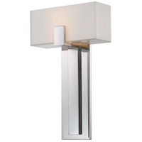 Signature 1 Light 10 inch Polished Nickel ADA Wall Sconce Wall Light