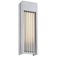 George Kovacs P1753-295-L Midrise LED 22 inch Sand Silver Outdoor Wall Sconce