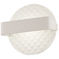 George Kovacs P1773-044B-L Quilted LED 7 inch Matte White ADA Wall Sconce Wall Light