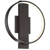 George Kovacs P1779-675-L Bypass LED 14 inch Chocolate ADA Wall Sconce Wall Light