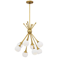Pontil 8 Light 18 inch Honey Gold Chandelier Ceiling Light
