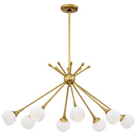 Pontil 8 Light 37 inch Honey Gold Island Light Ceiling Light