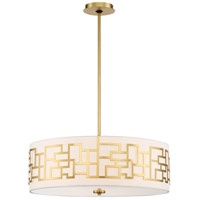 George Kovacs P197-248 Alecias Necklace 4 Light 24 inch Honey Gold Pendant Ceiling Light