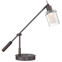 George Kovacs P4516-647 George's Reading Room 8.00 watt Copper Bronze Patina Table Lamp Portable Light