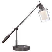 George Kovacs P4516-647 Georges Reading Room 8 watt Copper Bronze Patina Task Lamp Portable Light