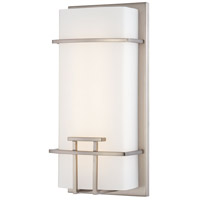 Signature LED 6 inch Brushed Nickel ADA Wall Sconce Wall Light