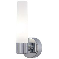George Kovacs P5041-077-PL Saber 1 Light 5 inch Chrome Wall Sconce Wall Light in CFL
