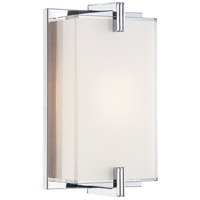 Cubism 1 Light 7 inch Chrome ADA Wall Sconce Wall Light