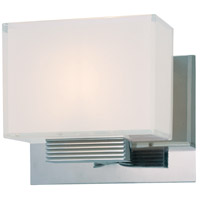 George Kovacs P5211-077 Cubism 1 Light 9 inch Chrome Bath Light Wall Light