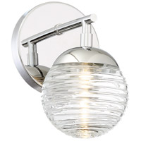 Vemo LED 5 inch Polished Nickel Bath Light Wall Light