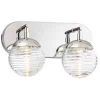 George Kovacs P5272-613-L Vemo LED 12 inch Polished Nickel Bath Light Wall Light
