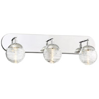 George Kovacs P5273-613-L Vemo LED 24 inch Polished Nickel Bath Light Wall Light