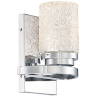 George Kovacs P5321-077-L Brilliant LED 7 inch Chrome Bath Bar Wall Light