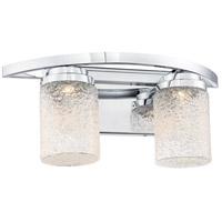George Kovacs P5322-077-L Brilliant LED 17 inch Chrome Bath Bar Wall Light