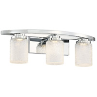George Kovacs P5323-077-L Brilliant LED 23 inch Chrome Bath Bar Wall Light