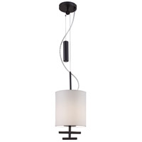 George Kovacs P542-617 Counter Weights 1 Light 8 inch Bronze Mini Pendant Ceiling Light