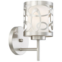 Links 1 Light 5 inch Brushed Nickel Wall Sconce Wall Light