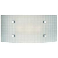 George Kovacs P6115-1-077 Pillow 3 Light 14 inch Chrome Bath Bar Wall Light