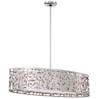 George Kovacs P7987-077 Layover 3 Light 32 inch Chrome Island Light Ceiling Light