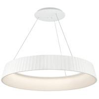 George Kovacs P8131-044-L Star Gate LED 34 inch White Pendant Ceiling Light