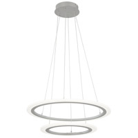 George Kovacs P8142-609-L Discovery LED 24 inch Silver Pendant Ceiling Light