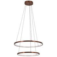 George Kovacs P8162-670-L Full Orbit LED 24 inch Satin Bronze Pendant Ceiling Light