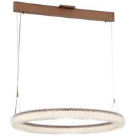 George Kovacs P8174-670-L Roulette LED 41 inch Satin Bronze Pendant Ceiling Light