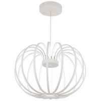 George Kovacs P8202-044B-L Snow Sprite LED 21 inch Matte White Pendant Ceiling Light
