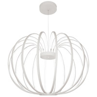 George Kovacs P8203-044B-L Snow Sprite LED 26 inch Matte White Pendant Ceiling Light