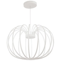 George Kovacs P8204-044B-L Snow Sprite LED 34 inch Matte White Pendant Ceiling Light