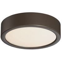 Signature LED 6 inch Painted Copper Bronze Patina Flush Mount Ceiling Light