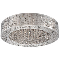 George Kovacs P981-077-L Hidden Gems LED 24 inch Chrome Flush Mount Ceiling Light
