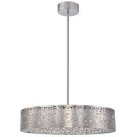 George Kovacs P986-077-L Hidden Gems LED 24 inch Chrome Pendant Ceiling Light
