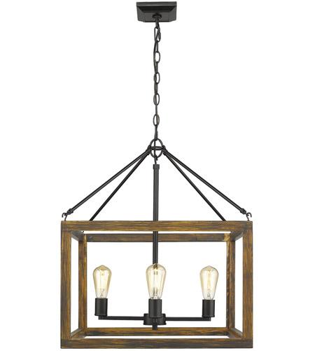 Golden Lighting 0270 4 Blk Sutton Light 21 Inch Black Chandelier Ceiling In No Shade