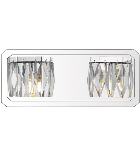 Chrome Krysta Bathroom Vanity Lights