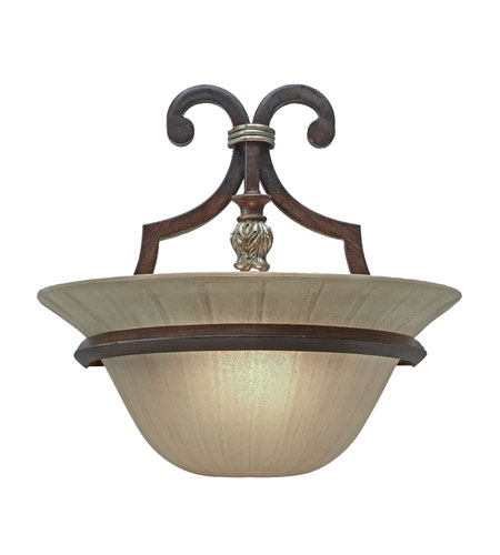 Golden Lighting Bristol Place 1 Light Sconce in New World Bronze 2501-WSC-NWB photo