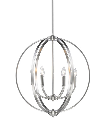 Golden lighting 3167 6 pw colson 6 light 26 inch pewter chandelier golden lighting 3167 6 pw colson 6 light 26 inch pewter chandelier ceiling light in no shade aloadofball Image collections